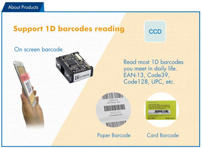 1D Barcode Scanner Module TTL232 Cable with Long Distance Reading