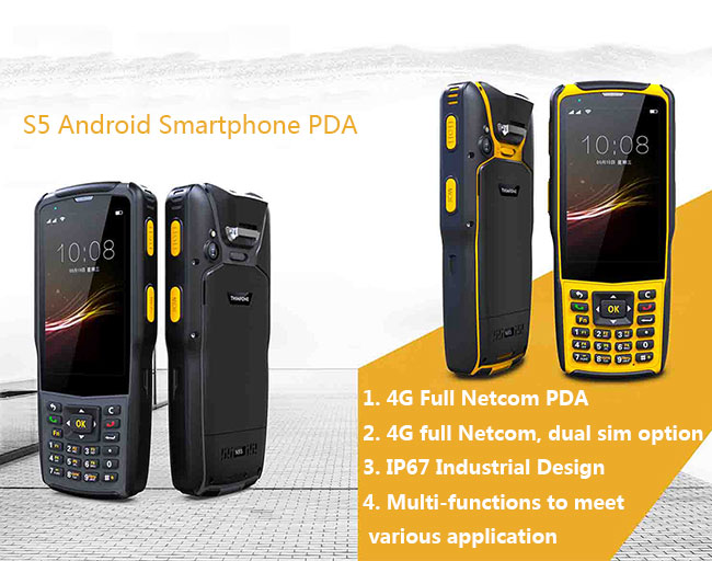 Android Smartphone PDA 4G full Netcom with IP67 Industrial Design 0
