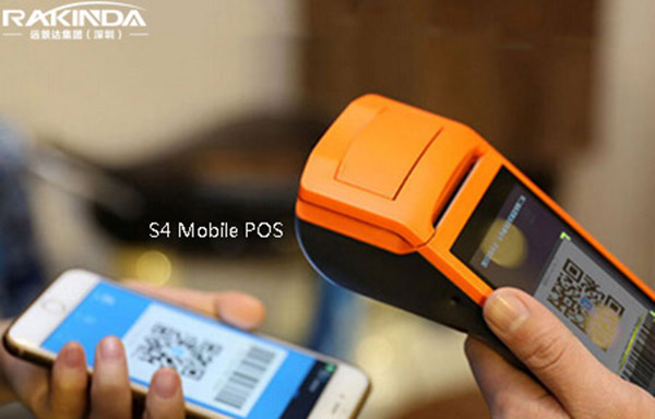 Android 6.0 Wireless USB Barcode Scanner S4 POS Terminal Excellent Mobile Payment