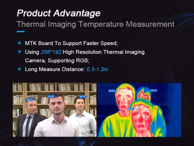 Android HD Thermal Imaging Camera 256X192 Temperature Measuring Device 1