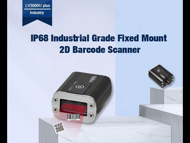 LV3000U PLUS Industrial Barcode Scanner Module,Compact Size and With Hardware Decoder. Free SDK.