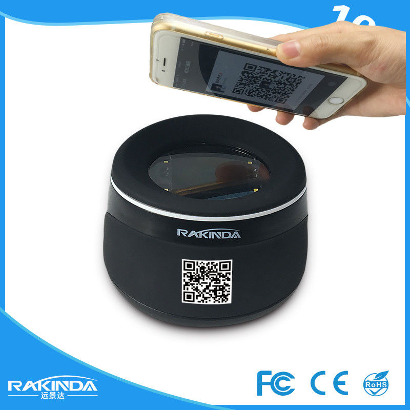 RD4100 Fixed Mount Barcode Scanner , 2D Qr Code Scanner For Hotel And Restaurant