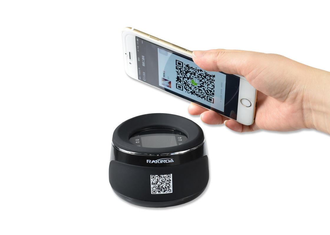 Desktop CCD Round Barcode Scan Engine For Shop Supermarket Sense Mode