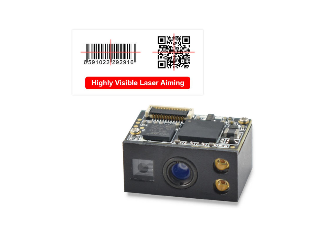 Small CMOS 2D Barcode Scanner Module TL232 Cable To Scan QR Code DM PDF417