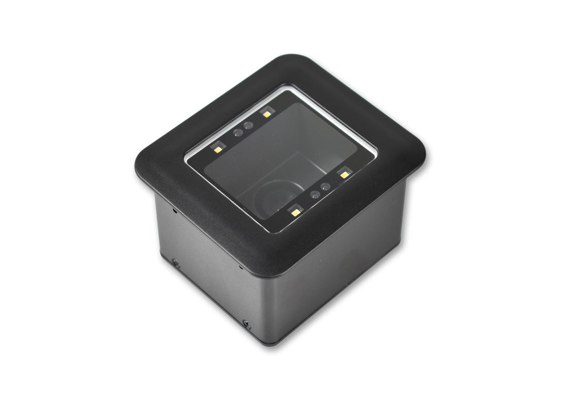 Black Color Barcode Reader Module RD4500R USB / RS232 Interface For Kiosk / Turnstile