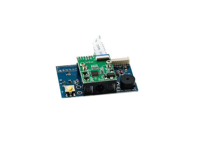 Custom Plug In Barcode Reader Module Embedded RS232 KB USB Visible 632nm Red Light