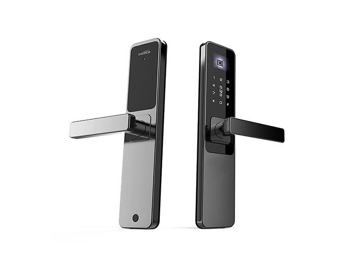 Electronic Password QR Code Door Lock 752X480 Image Sensor For Smart Home
