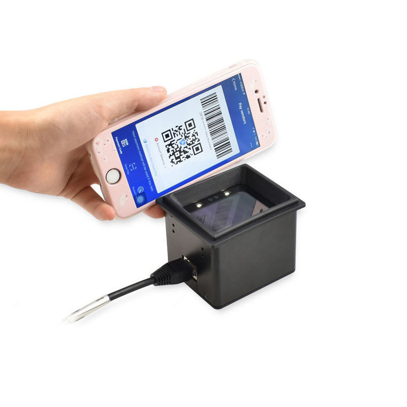 RD4600 High quality RS232 or USB 2D Fixed Mount Barcode Scanner Reader For Kiosk or Turnstile Mobile Access Control
