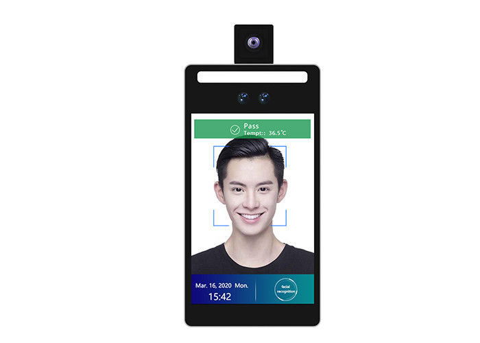 "Wall Mounted Face Recognition Attendance System 8"" Android Temperature Detection Rakinda F2-H"