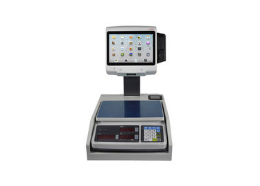 Touch Screen And Barcode Payment Electronic Scale For Supermarket