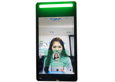 China RS232 Serial Port 6 Core Face Recognition Android Terminal For Time Attendance factory
