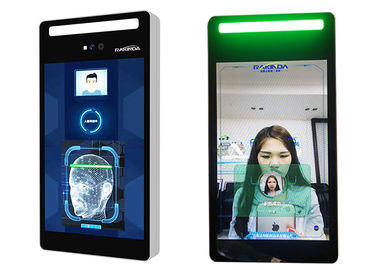 China IPS LCD Screen Face Recognition Access Control System 8 Inch Full Viewing Angle factory