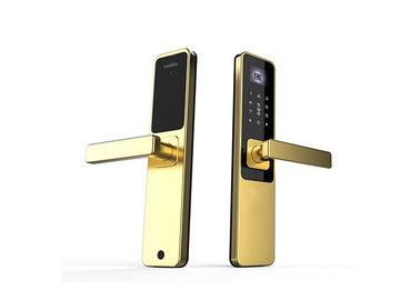 China 6063GB Aluminum Hotel Door Locks Rakinda With Digital Password Touch Screen factory