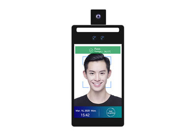 "China Wall Mounted Face Recognition Attendance System 8"" Android Temperature Detection Rakinda F2-H factory"
