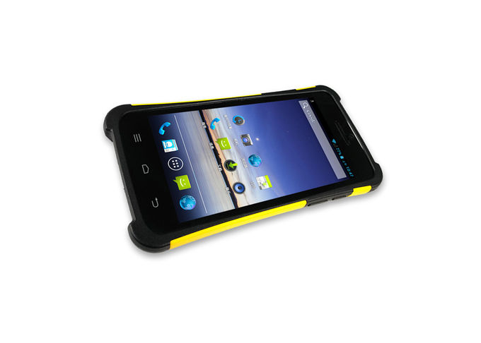 Yellow S1 Handheld PDA Scanner , wireless Android Portable 2d Barcode Scanner